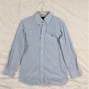 Ralph Lauren Plaid Men's Dress Shirt (15- 32/33)